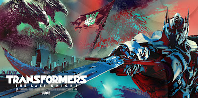 Transformers: The Last Knight Banner Poster 2