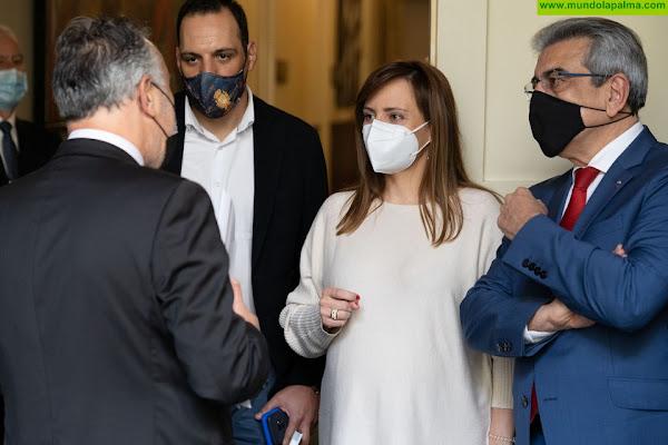 """Nieves Lady Barreto: """"Hemos conseguido que el Gobierno de Canarias vuelva a poner dinero para la Red de Riego de Las Manchas, en Los Llanos y El Paso"""""""