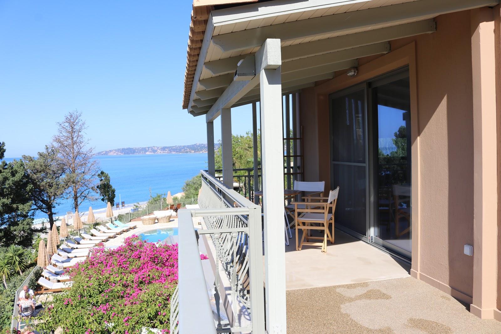 Penthouse balcony and terrace, F Zeen Resort, Unique Villas, Kefalonia