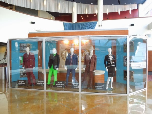 Anchorman 2 Legend Continues movie costume exhibit