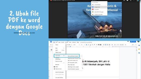 mengubah file pdf ke microsoft word dengan google docs 2