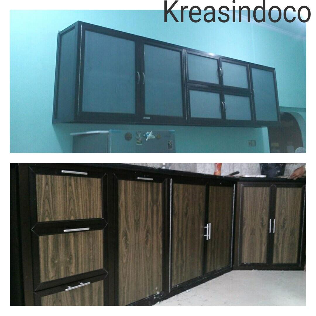 Model dan Warna Kitchen Set Aluminium ACP - Widodo.web.id adalah ...