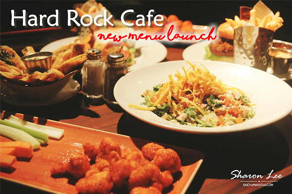 New Menu Launch at Hard Rock Cafe!