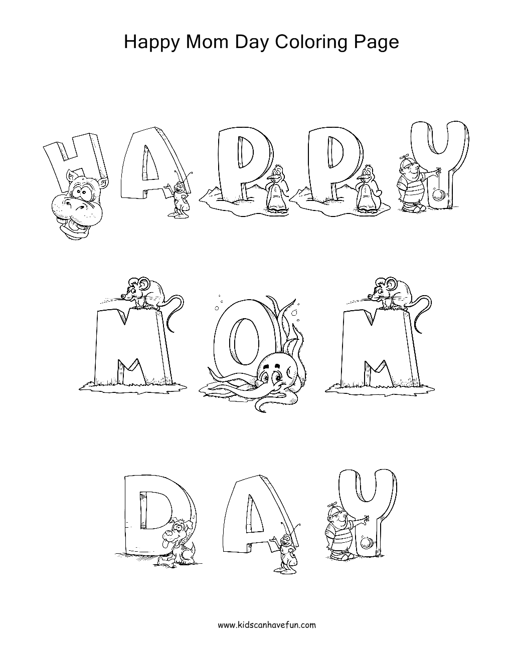 Happy mothers day coloring pages coloring picutres for Mothers day coloring pages religious