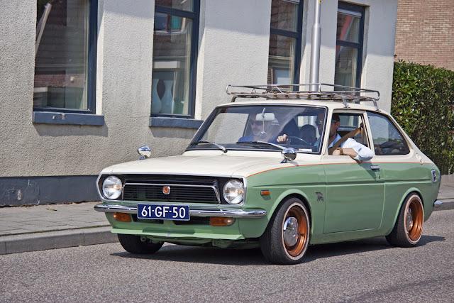 Toyota Publica, klasyczne miejskie samochody