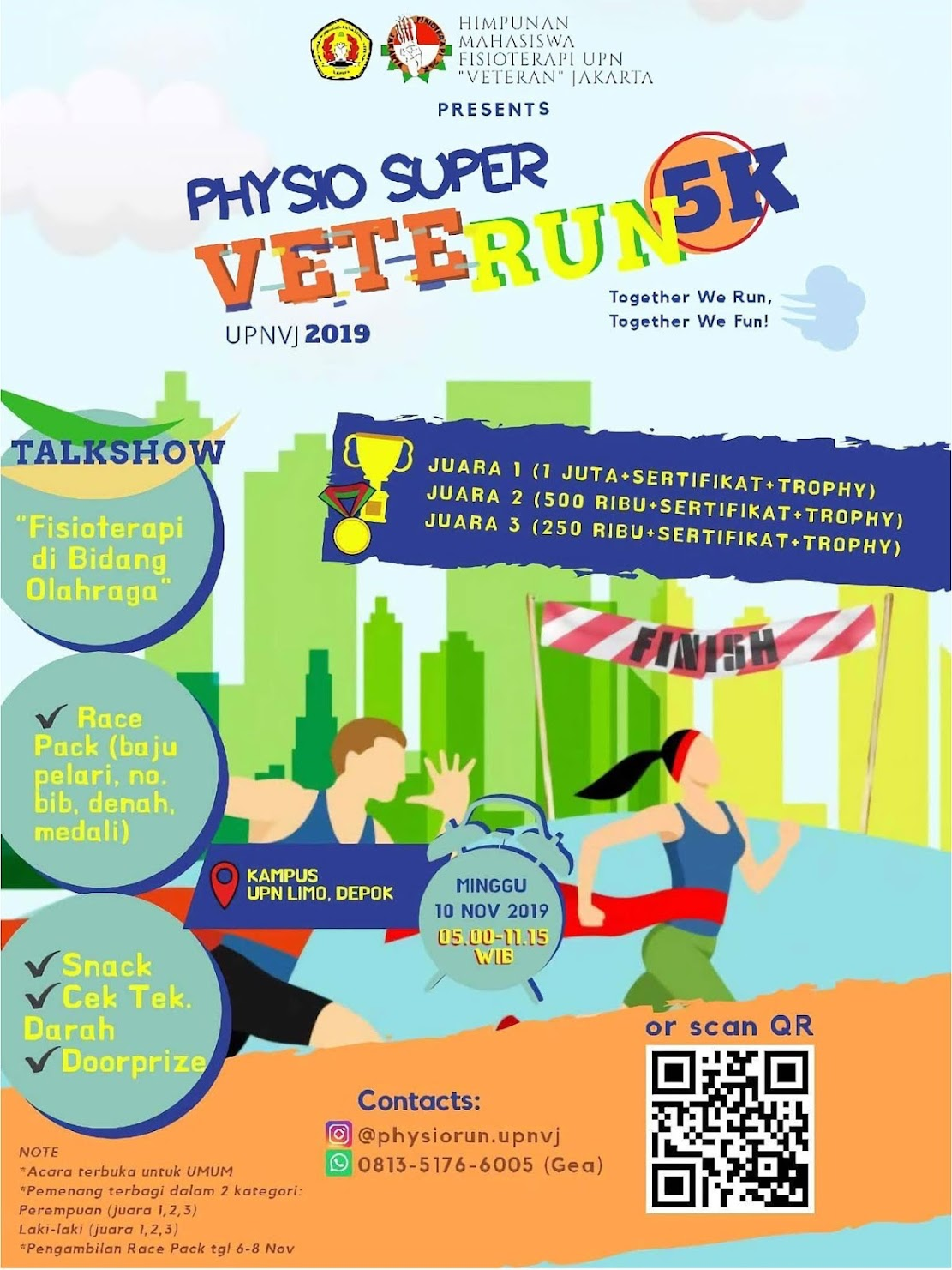 Physio Super VeteRun UPNVJ • 2019
