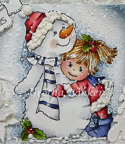 Het Kaartenhoekje Van Gretha Bildmalarna Quot Snowman Hugs Quot