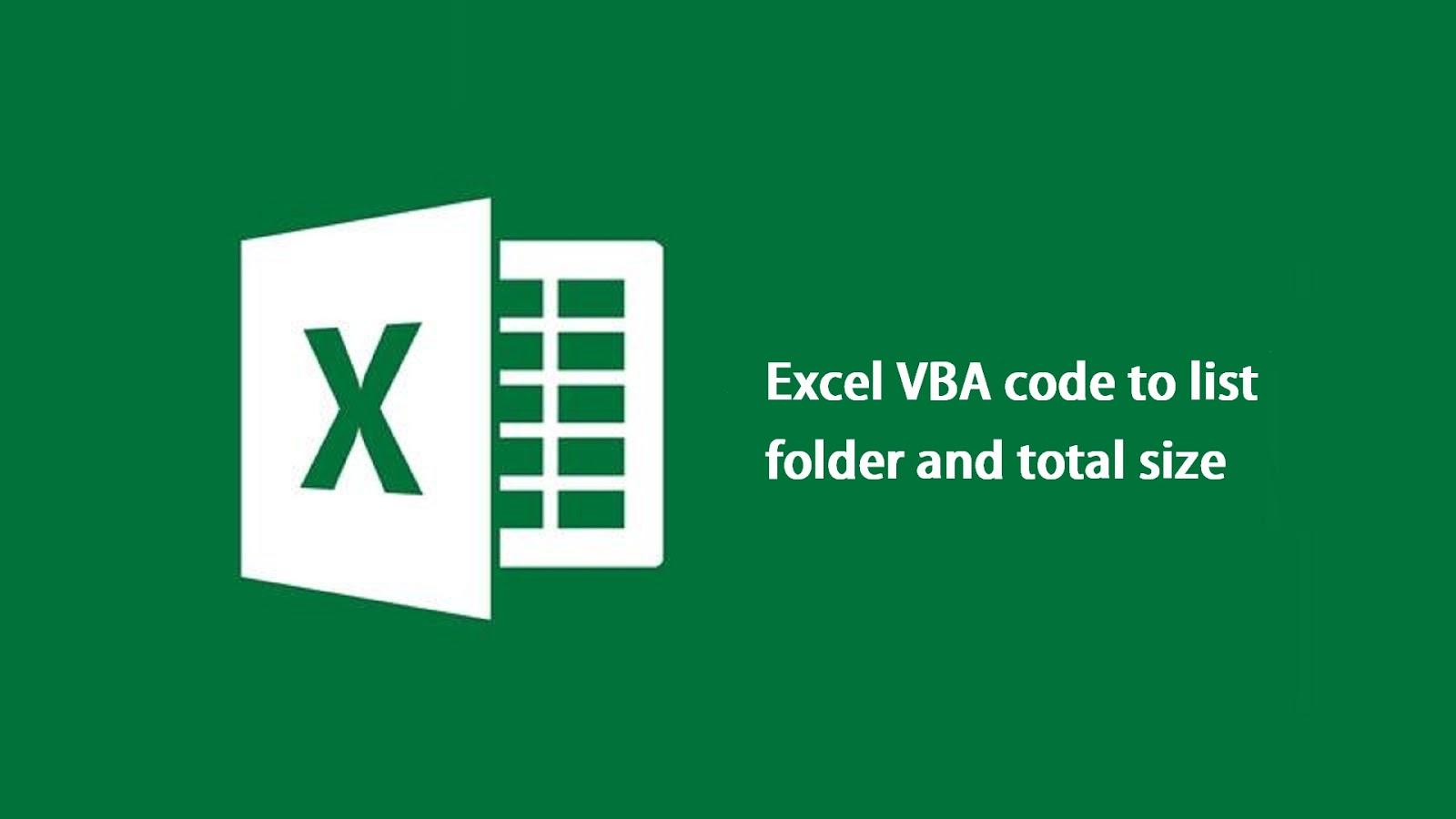 Vba Codes List