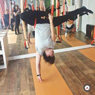 cours aero yoga
