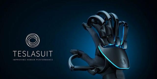 TESLASUIT : Un gant qui vous permet de ressentir des objets virtuels !