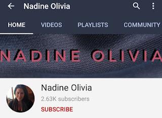 Youtube Nadine Olivia