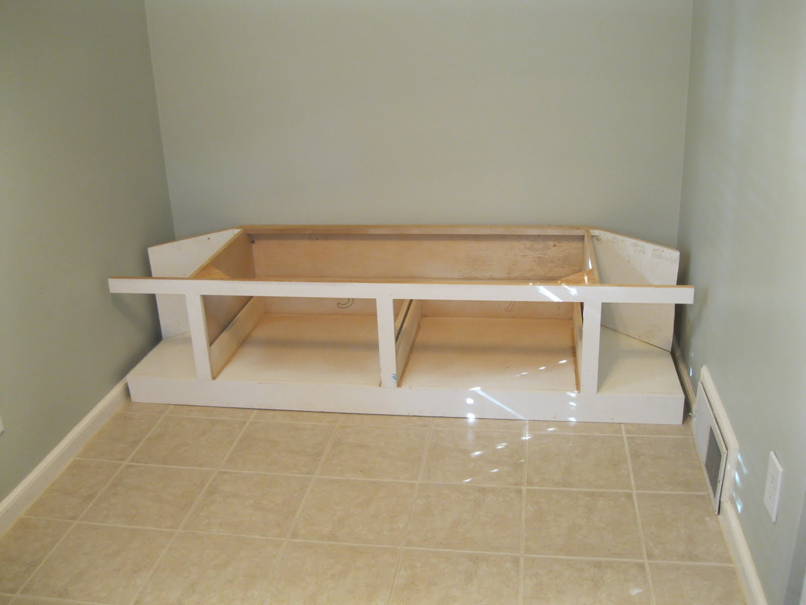 Kitchen Cabinet Work Bench Drawers Youtube