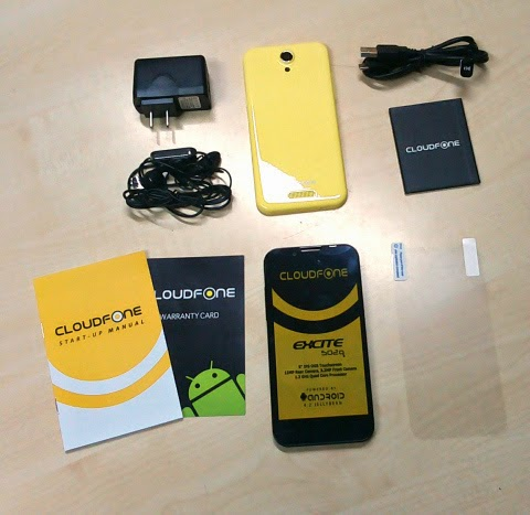 CloudFone Excite 502q: Specs, Price and Availability