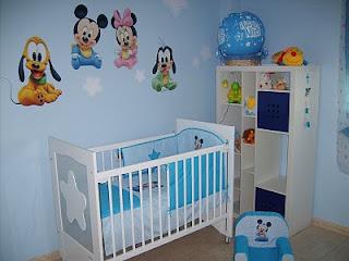 habitación baby disney
