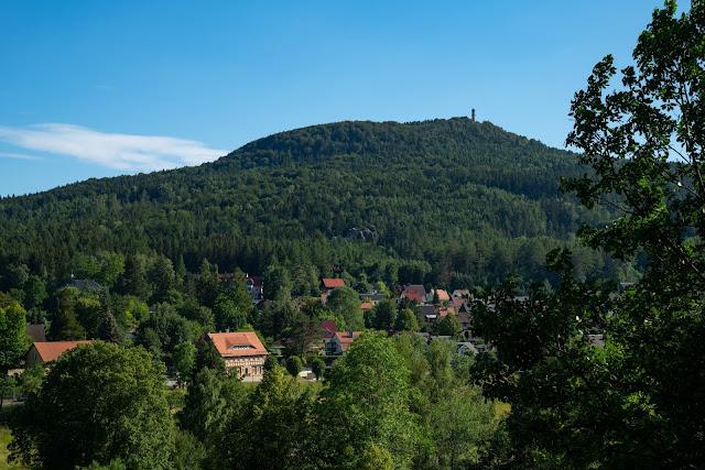 Oberlausitzer Bergweg | Etappe von Waltersdorf nach Oybin | Wandern im Zittauer Gebirge | Sachsen 25