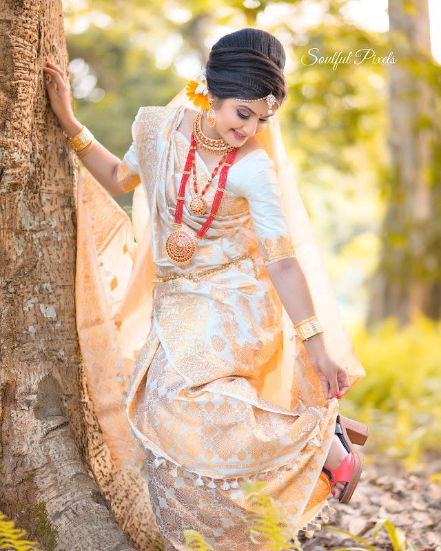 Traditional Assamese Bride