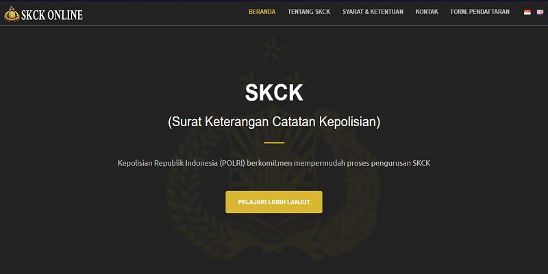 syarat membuat skck online