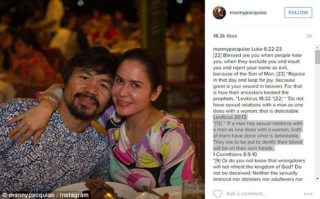 Manny Pacquiao gay scandal