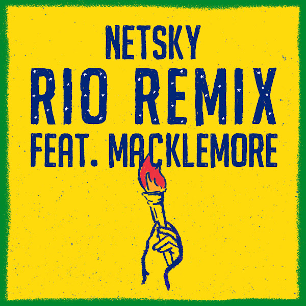 Netsky - Rio (feat. Macklemore & Digital Farm Animals) [Remix] - Single Cover