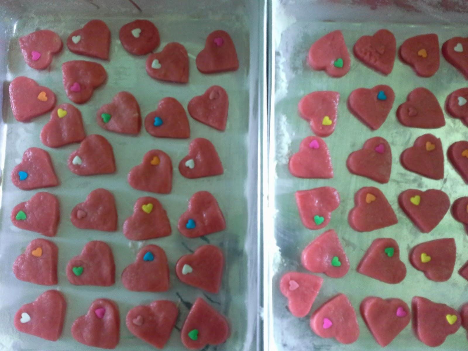 Biskut romantik cinta valentina