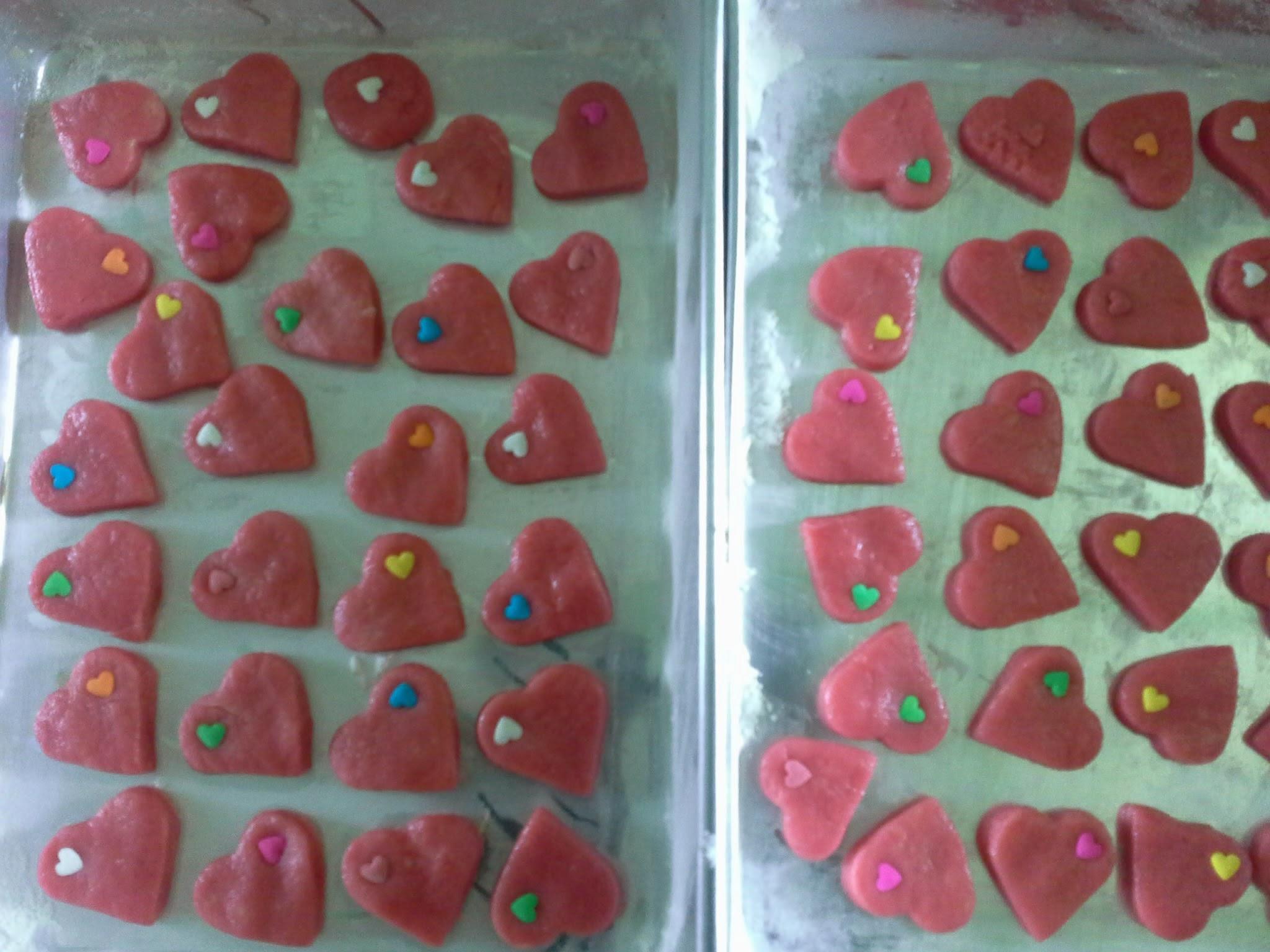 Resipi Biskut Valentine