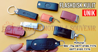 Flashdisk Kulit / USB Flash Disk Promosi Kulit