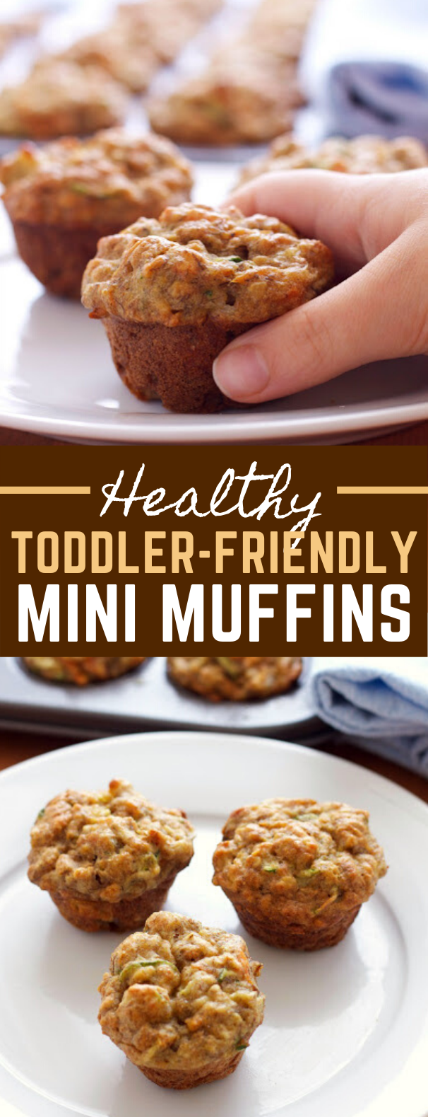 Healthy Toddler-Friendly Mini Muffins #vegetables #kidfriendly