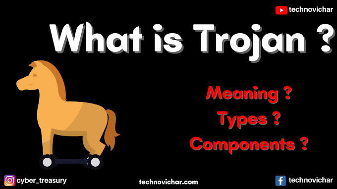 ट्रोजन/ट्रोजन हॉर्स क्या है,ट्रोजन वायरस के प्रकार | What is trojan horse meaning in hindi