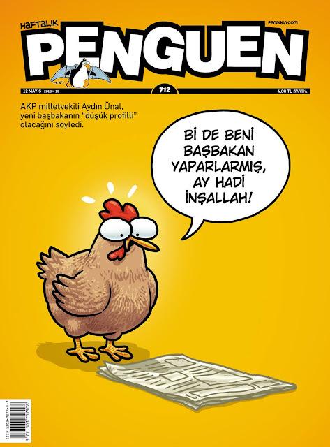 Penguen Dergisi - 12 Mayıs 2016 Kapak Karikatürü