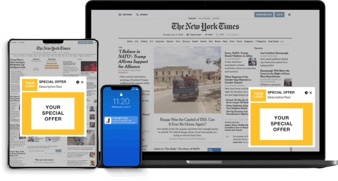 Murgrabia's tools: New proftable way of website's monetizing - push