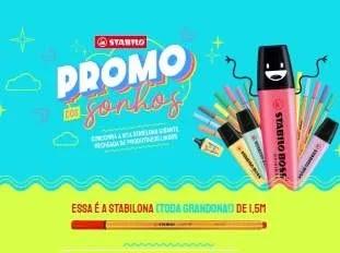 Cadastrar Promoção Stabilo 2020 Promo Sonhos Kits Prêmios - Volta às Aulas