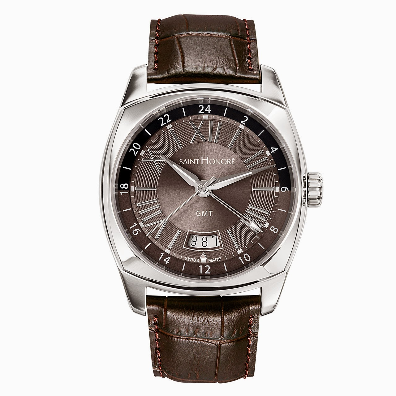 Saint Honore Lutecia GMT Watch