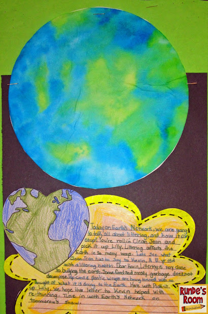 Earth Day Collage Ideas - Year of Clean Water
