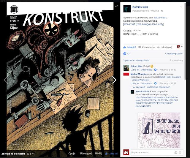 W Radiu Słychać Tylko Szumy - Recenzja Konstruktu #2 na stronie Komiks Dnia