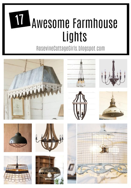Awesome Farmhouse Lights, Beautiful Farmhouse lighting, by rosevine cottage girls
