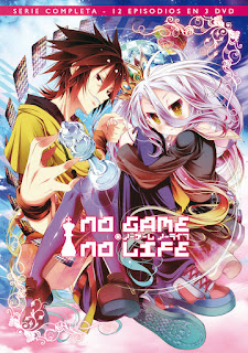 No Game No Life [12/12] [Mega] [Audio Castellano]