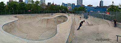 Skatepark Chelsea Pier 62 Manhattan