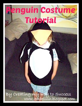 Penguin Costume Tutorial