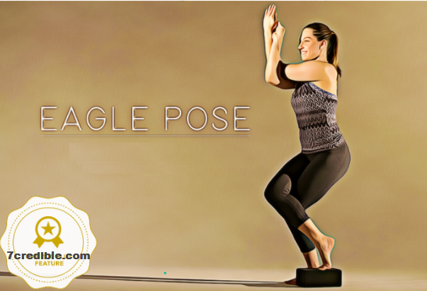 how Eagle Pose Works to relief from Stress