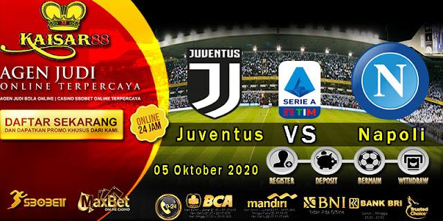 Prediksi Boal Terpercaya Liga Italia Juventus vs Napoli 5 Oktober 2020