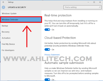 Cara Mematikan Anti Virus Di Windows 10 Pada Laptop/PC Dengan Mudah