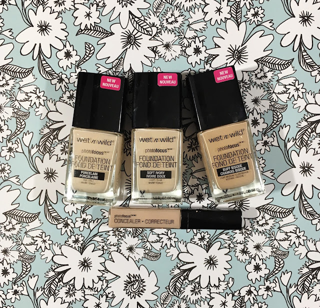 Wet n Wild Photo Focus Foundation Review