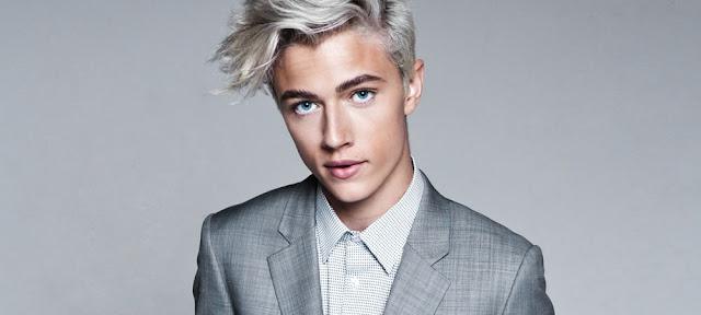 Dicas: Coloração de cabelo dos homens Loira Platinado - Calitta Blog