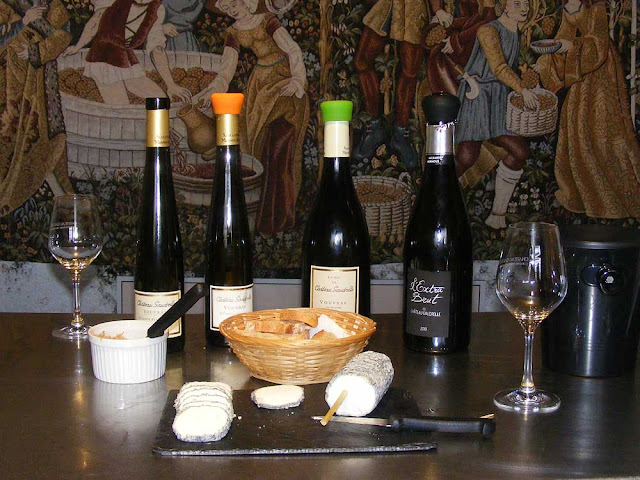 Wine tasting.  Indre et Loire, France. Photographed by Susan Walter. Tour the Loire Valley with a classic car and a private guide.