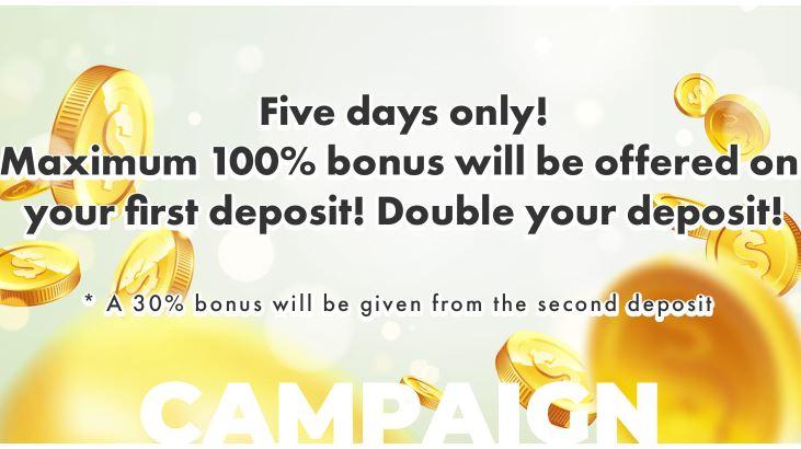 Bonus Deposit Bitterz 100% - Tradable Bonus