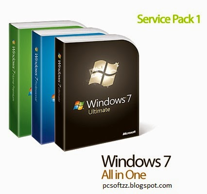 Download Windows 7 AIO 52in2 SP1 x86/x64 Pre-Activated Integrated April 2014 [Direct Link]