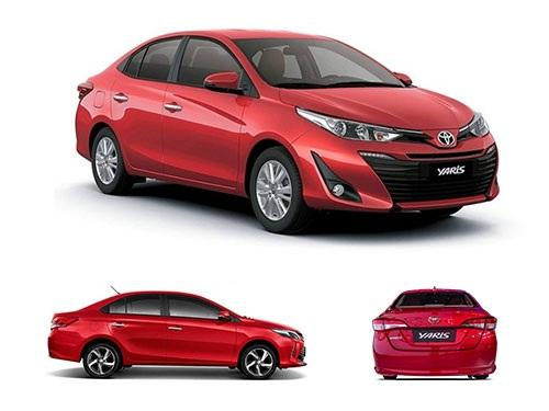 New 2018 Toyota Yaris Sedan all types looks