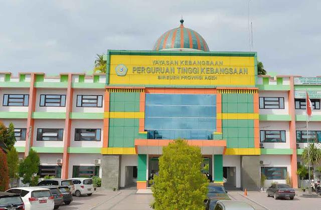 Perguruan Tinggi Swasta di Provinsi Aceh