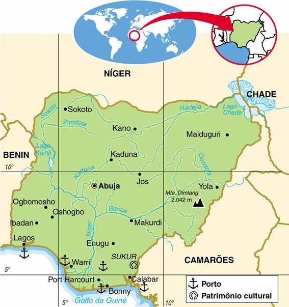 NIGÉRIA, ASPECTOS GEOGRÁFICOS E SOCIOECONÔMICOS DA NIGÉRIA