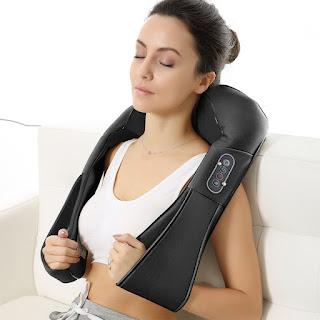 Naipo Massaggiatore per Collo e Spalle Cuscino Cervicale Shiatsu sconto 62